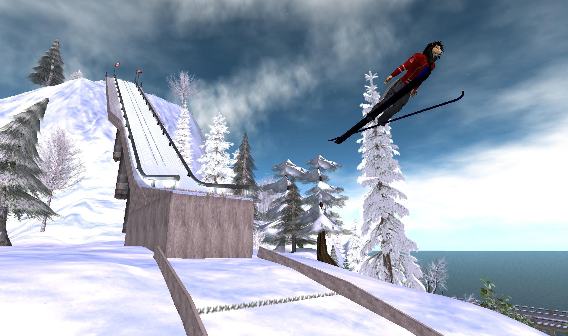ski jumping online